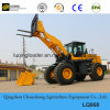 Ce Wheel Loader with Hydraulic Snow Blade for Europe