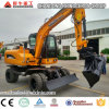 Best Sale Hydraulic Wheel Excavator with Ce