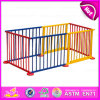 2015 Safety Care Wooden Folding Baby Playpen, Luxury Baby Furniture Baby Playpen, Colorful Large Playpen/Fence for Babies W08h010