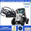Titan Micro Carregadeira Mahindra Tractor Front End Zl 12 Wheel Loaderwith 4 in 1 Bucket