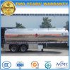 2 Fuwa Axles Oil Tanker Trailer 37000L Stainless Steel Tank Semi Trailer