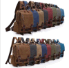 Canvas Chest Bag Travel Sport Satchel School Single Shoulder Bike Sling Backpack