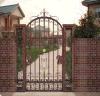 Iron Cast Aluminum Swing Gate Door Garden Door