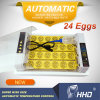 2020 Full Automatic 24 Eggs Multifunction Mini Home Use Chicken Egg Incubator for Sales