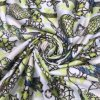 50d*75D Semigloss False Twist Digital Printed Satin for Dressing