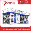 6 Color High Speed Central Drum Ci Flexography/Flexo/Flexographic Printing Machine