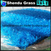 Colorful Artificial Grass 30mm Red Yellow Blue Purple Color