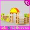 Best Design Nursery School Combination Cartoon Wooden Kids Toy Organization W08c201