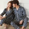 Lovers' Spring and Autumn Thin Long Sleeve Pajamas