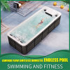 CE Certified Endless Jacuzzi Swimming SPA Pool with 8 Speeds Adjusted