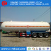 Nigeria Triaxle 20t LPG Gas Trailer 50000liters LPG Tanker Trailer