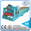 Automatic Hydraulic Step Making Glazed Roof Sheet Roll Forming Machine