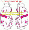 2016 Black Gbs-16 Classic Caddy Waterproof Golf Bag