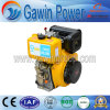 14HP Single Cylinder, 4-Stroke, Air Cooled Diesel Engine with Ce Certificate