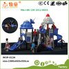 Outer Space Series Children Outdoor Playground Slides