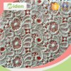 Popular Floral Pattern Water Soluble Organic Cotton Lace Fabric