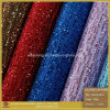 fashion Glitter Lace Leather & Glitter Leather for Shoes (SP012)