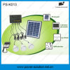 4W Solar Panel 3PCS 1W SMD LED Bulbs Solar Kit with Phone Charger Function