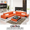 Foshan Modern Luxury Sleeper Sofa with Two Side Drawers