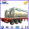 China Manufacturer 3 Axles 24cbm Fuel Semi-Trailer Tank Container