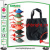 Polyester Fabric Foldable Hand Carry Tote Bag