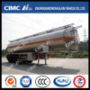 Cimc Huajun High Standard 35cbm Aluminium Alloy Fuel Tank Trailer