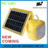Hot Sell Plastic Solar Light House for Lighting and Charge Cell Phone