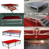 Rigeba Disco DJ Stage Wedding Party Show Events Project Aluminum Plywood Stage for Party Events