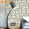 2018 Guangzhou New Modern PVC Vinyl Waterproof 3D Wallpaper for Home Decoration
