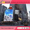 Outdoor Full Color Fixed Installation P10 LED Screen with Iron Cabinet