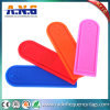 Passive UHF Laundry Tag Silicone / Long Range RFID Tag Anti - Acid