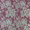 Pretty Design Embroidery on Mesh Lace Fabric for Garments