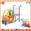 Supermarket Plastic Shopping Trolley with Toy Car (Zht51)