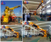 2t14m Hydraulic Telescoping and Knuckle Boom Marine Pedestal Crane