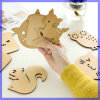 Animal Zakka Wooden Heat Insulation Coaster Placemat Creative Cup Mat M-9125