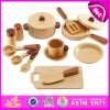 New Arrival Wooden Education Role Play Set Wooden Kitchenware Cooking Toy W10b127