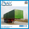 China Commercial Vehicle, 3 Axles Used Small Van Semi Trailer Sale