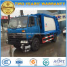 Dongfeng 10 Tons Compactor Garbage Truck 10m3 Compressed Refuse Truck