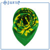 Women Silk Scarf with Custom Logo Design Digital Printed Silk Scarf