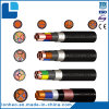 Low Voltage Copper XLPE Heavy Steel Wire Armoured Polyolefinpower Cable