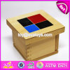 2017 New Design Educational Blocks Wooden Montessori Baby Toys W12f015