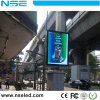 Waterproof Street Lamp Pole P6 Outdoor Digital LED Display Sign