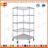Popular Metal Wire Office Display Shelves Storage Rack (ZHw162)