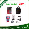 Autolink Al419 Obdii and Can Code Reader Auto Scanner OBD2 Scanner Auto Diagnostic Tool