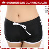 Wholesale Cheap Blank Swimwear Shorts for Womens Black (ELTBSI-39)