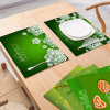 Wholesale Christmas Decoration Placemat Nordic Wind Non-Slip Insulation Kitchen Table Mat