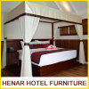 Teak Wood Four Poster Bed Resort 5 Star Hotel Furniture