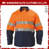 Hi Vis Workwear Safety Workwear Uniform Reflective Work Shirt (ELTHVSI-6)