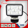 "6"" Square 50W LED Work Light for Offroad Cars"
