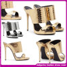 High Quality 2015 Ladies New Design Fashion Heel Sandals for Women (D0887)